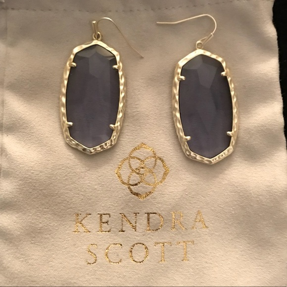ae3f254f4403f Kendra Scott Ella Earrings - Periwinkle & Gold